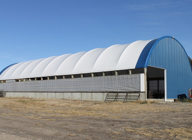 Hoop Barn in Brookings, SD